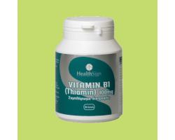 Health Sign B1 Thiamin 100mg 90caps, Συμπλήρωμα Διατροφής που συμβάλλει στη φυσιολογική λειτουργία του νευρικού συστήματος και της καρδιάς