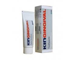 Kin KinGingivital Toothpaste Οδοντόκρεμα για τη Φροντίδα των Ευαίσθητων Ούλων, βοηθά στη Μείωση της Πλάκας, δρα κατά της Τερηδόνας & μειώνει την Κακοσμία του Στόματος 75 ml