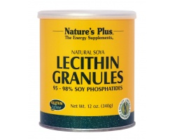 Nature's Plus, Lecithin Granules,  Φυσική Λεκιθίνη Σόγιας σε Κόκκους, Βοηθά στη Διατήρηση του Σωματικού Βάρους, Ελέγχει τη Χοληστερόλη & Προάγει την Καρδιαγγειακή Υγεία 340 gr