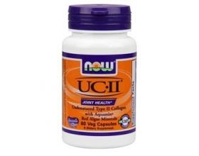 Now Foods UCII 800 mg, (Undernatured Type II Collagen), Συμπλήρωμα από την Κύρια Δομική Πρωτεΐνη του Χόνδρου, Ζωϊκής Προέλευσης, για την Καλή Υγεία των Χόνδρων & την Ανάπλαση του Κολλαγόνου 60 vcaps