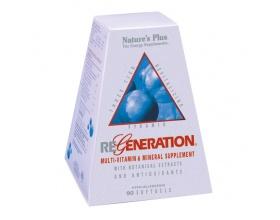 Nature's Plus, Regeneration, Φόρμουλα με Τρεις Ομάδες Φυσικών Συστατικών που Σχηματίζουν μια Πυραμίδα Τόνωσης, Προστασίας & Ανανέωσης, με Αντιοξειδωτική Δράση  90 softgels