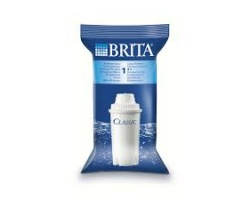 Brita Classic Ανταλλακτικά Φίλτρα, μειώνει Άλατα & άλλες ουσίες όπως το Χλώριο το οποίο επηρεάζει τη Γεύση & τη Μυρωδιά του Νερού της Βρύσης 3τμχ