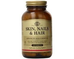 Solgar Skin Nails Hair, Συμπλήρωμα διατροφής για υγιή επιδερμίδα, γερά νύχια και μαλλιά 120 ταμπλέτες