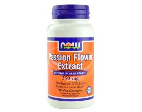 Now Foods Passion Flower Extract 350 mg, Συμπλήρωμα από Εκχύλισμα Λουλουδιού του Πάθους, Βοηθά στη Χαλάρωση, τη Μείωση της Υπερέντασης & της Ανησυχίας, 90 Vcaps