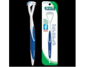 Gum 760 HaliControl Καθαριστής γλώσσας με διπλή δράση για καθαρή αναπνοή 1 τεμάχιο