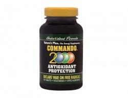 Nature's Plus Commando 2000 90 tabs, Πρωτοποριακή Αντιοξειδωτική Φόρμουλα, για την Αντιμετώπιση των Ελεύθερων Ριζών & του Εκφυλισμού των Κυττάρων