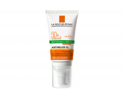 LA ROCHE, ANTHELIOS XL DRY TOUCH, TINTED ANTI-BRILLANCE, SPF50+ /50ml Πολύ υψηλή αντηλιακή προστασία προσώπου  με dry touch υφή για ματ αποτέλεσμα & χρώμα