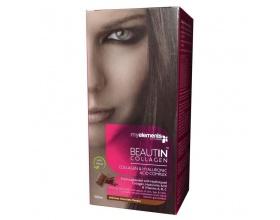 MyElements Beautin Collagen Συμπλήρωμα διατροφής με Υδρολυμένο Κολλαγόνο, ενισχυμένο με Υαλουρονικό Οξύ Σοκολάτα/Στέβια 500ml