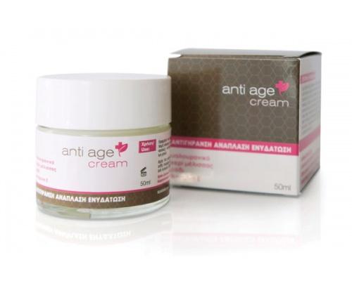 Bioplus, Anti age cream, αντιγήρανση, ανάπλαση, ενυδάτωση, 50ml