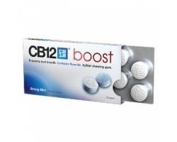 CB12 boost Τσίχλα με ξυλιτόλη που εμποδίζει την εμφάνιση της δυσάρεστης αναπνοής 10 τσίχλες