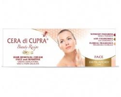 Cera di Cupra Κρέμα αποτρίχωσης για το πρόσωπο και τις ευαίσθητες περιοχές  με χαμομήλι και κερί μελισσών  50 ml