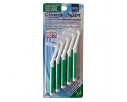Intermed, Chlorhexil, Interdental Brushes, Μεσοδόντια βουρτάσκια καθαρισμού με λαβή, SS 0,8mm, 5 τμχ