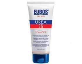 EUBOS Urea 5% Shampoo Σαμπουάν  καθαρισμού υψηλής περιποίησης με ουρία, για την καθημερινή εφαρμογή στα ξηρά και ταλαιπωρημένα μαλλιά και την επιδερμίδα που παρουσιάζει ξηρότητα 200ml