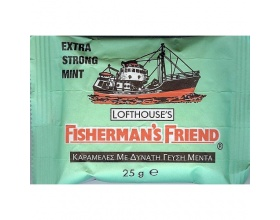 FISHERMAN'S FRIEND Original Mint ΠΡΑΣΙΝΟ Μέντα 25g