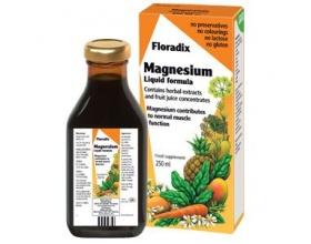 Power Health Floradix Magnesium Πόσιμο Μαγνήσιο, συμβάλλει στην Αντιμετώπιση των Μυικών Πόνων, στην Καλή Υγεία των Οστών  250ml