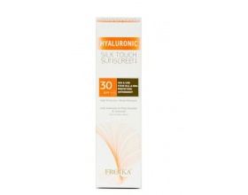 Froika Hyaluronic, Silk Touch Suncare Cream, SPF 30, Αδιάβροχη Αντιηλιακή Κρέμα Προσώπου, με Αντιρυτιδικούς Παράγοντες, 40ml