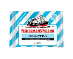 FISHERMAN'S FRIEND Original No Sugar Ευκάλυπτος γαλάζιο 25g