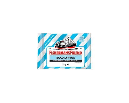 FISHERMAN'S FRIEND Original No Sugar Ευκάλυπτος γαλάζιο 25g