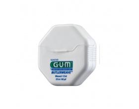 Gum, ButlerWeave Waxed, κερωμένο οδοντικό νήμα, 55m
