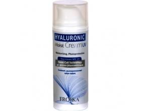 Froika, Hyaluronic Mois,t UV SPF 20, Κρέμα Ημέρας με Υαλουρονικό Οξύ, για κάθε τύπο δέρματος και αντιηλιακή προστασία, 50ml