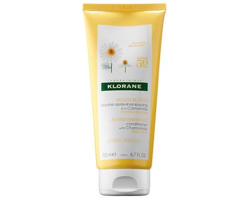 KLORANE Blond Highlights Conditioner with Chamomile  Μαλακτική Κρέμα για Χρυσαφένια  Λάμψη 200ml