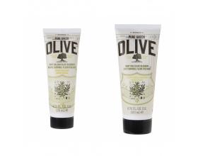 Korres, Pure Greek Olive, Body Milk Olive Blossom, Ενυδατικό Γαλάκτωμα με Άνθη Ελιάς, 200ml