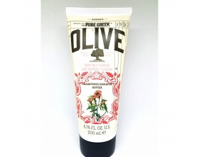 Korres, Pure Greek Olive, Body Milk Verbena, Ενυδατικό Γαλάκτωμα με Άρωμα Λουίζας, 200ml