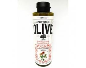 Korres, Pure Greek Olive Shower Gel Verbena, Αφρόλουτρο με Άρωμα Λουίζα, 250m