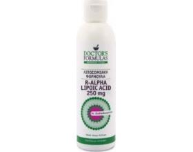 Doctor's Formulas R-Alpha Lipoic Acid 250mg Λιποσωμιακή Φόρμουλα με R-Άλφα Λιποϊκό Οξύ, με Ισχυρές Αντιοξειδωτικές Ιδιότητες,  300ml