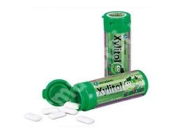 Xylitol, Chewing Gum For kids, Παιδικές τσίχλες Apple, 30 τσίχλες