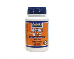 Now Foods Methyl B-12 1000 mcg  μεθυλοκοβαλαμίνη (Β12), παίζει σημαντικό ρόλο στο σχηματισμό ερυθρών αιμοσφαιρίων, στη λειτουργία του εγκεφάλου και του νευρικού συστήματος 100 Lozenges