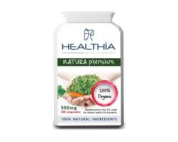 Healthia  Natura Premium Οργανικά καλλιεργημένα πολυβιταμινούχο συμπλήρωμα διατροφής 100 κάψουλες