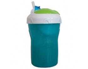 Primamma 800, Ποτηράκι 2 σε 1, 12m+, με Καλαμάκι Σιλικόνης & Καπάκι Ασφαλείας, Ιδανικό για τη Βόλτα του Μωρού, Χρώμα Πράσινο, 280 ml