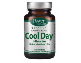 Power Health, Classics Platinum, Cool Day, Συμπλήρωμα Διατροφής για τον Έλεγχο της Διάθεσης, 30 tabs