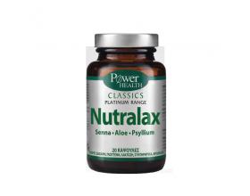 Power Health, Classics Platinum, Nutralax, Συμπλήρωμα Διατροφής για την Ομαλή Λειτουργία του Εντέρου, 20 caps