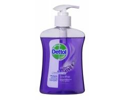 Dettol Liquid Soap Soothe  Χαλαρωτικό,Αντιβακτηριδιακό Υγρό Κρεμοσάπουνο από σταφύλι & εκχυλίσματα λεβάντας 250 ml