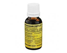 MERIPHARM Meridiankomplex N1 20ml, Ομοιοπαθητικό Σκεύασμα