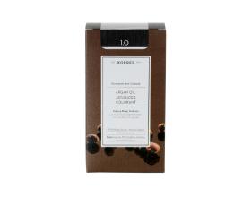 KORRES 1.0 Βαφή Μαλλιών με Έλαιο Argan & φυτική Κερατίνη, ΜΑΥΡΟ, 50ml