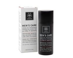 Apivita Men's Care Κρέμα Gel Ενυδάτωσης, Δροσερή, Μη Λιπαρή υφή με κέδρο & πρόπολη 50ml
