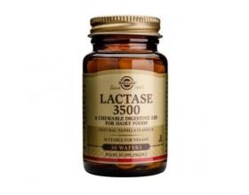 Solgar Lactase 3500  30 chewable tabs, Συμπλήρωμα Διατροφής για άτομα που έχουν δυσκολία στη διάσπαση της λακτόζης