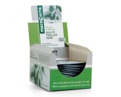 Macrovita Μάσκα Ομορφιάς Peel Off με λάδι ελιάς και λευκό τσάι 15ml για 1-2 χρήσεις