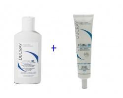 Ducray Kelual DS Shampoo 100ml + Kelual DS Cream 40ml, Πακέτο αγωγής για σοβαρές απολεπιστικές καταστάσεις