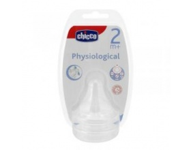 Chicco Well-Being θηλή σιλικόνης ρυθμιζόμενη ροή 2m+ (2τεμ.)