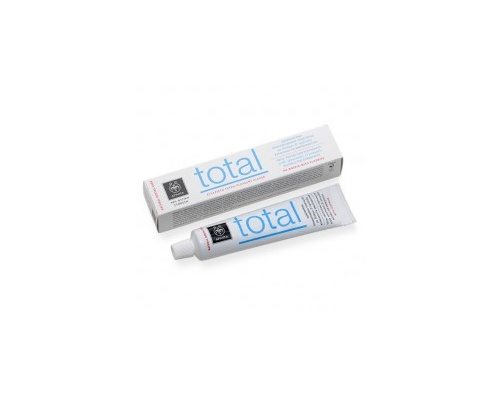 APIVITA Οδοντόκρεμα Total Ολικής Προστασίας με πρόπολη & δυόσμο 75ml