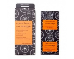APIVITA Express Beauty Μάσκα Αναζωογόνησης  με πορτοκάλι 2*8ml