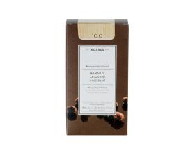 KORRES 10.0 Βαφή Μαλλιών με Έλαιο Argan & φυτική Κερατίνη , ΞΑΝΘΟ ΠΛΑΤΙΝΑΣ ΦΥΣΙΚΟ 50ml