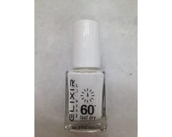 ELIXIR London Nail Polish Fast dry Βερνίκι νυχιών χρώμα λευκό Ν03 13ml