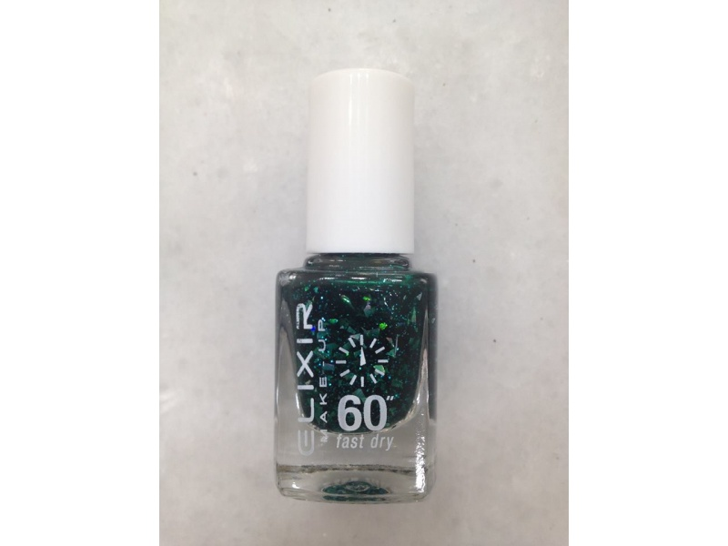 ELIXIR London Nail Polish Fast dry nail polish color dark green ...