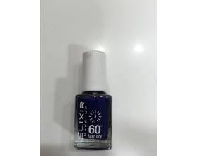 ELIXIR London Nail Polish Fast dry Βερνίκι νυχιών χρώμα μπλέ σκούρο με glitter Ν17 13ml