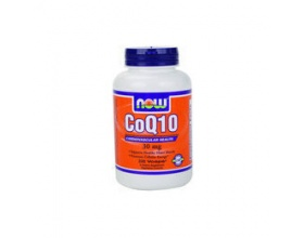 Now Foods CoQ10 30 mg, Συμπλήρωμα Διατροφής που στηρίζει την υγιή λειτουργία του καρδιαγγειακού και ανοσοποιητικού συστήματος, 60 κάψουλες